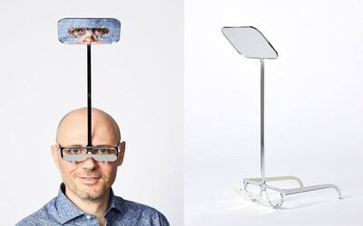 Vynálezce vymyslel speciální brýle pro nízké lidi, díky kterým na festivalu uvidíš kapelu i přes vysoké fanoušky