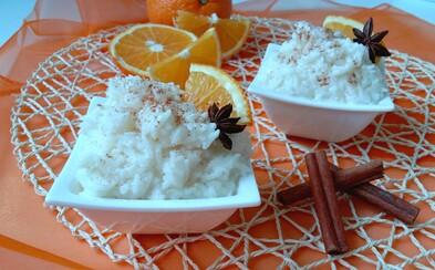 Vynikajúca kokosovo-pomarančová mliečna ryža, ktorá zasýti (Recept)