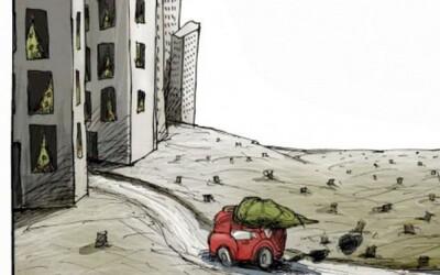 Výnimočne dobré surrealistické karikatúry kritizujú dnešný svet