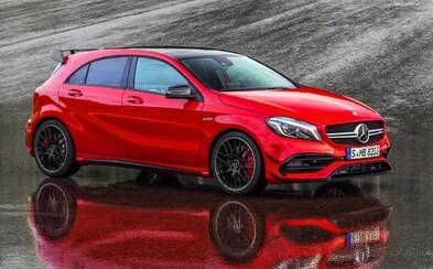 Vynovený Mercedes triedy A je realitou a s ním aj najsilnejšie kompaktné športové auto, 381-koňové AMG A 45!