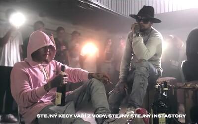 Vypadni, když v backstage řešíme love. V novém videoklipu spolupracuje Viktor Sheen, Jickson a Yzomandias