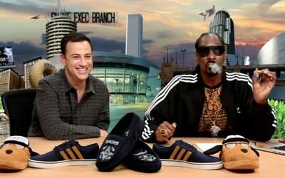 Vypečený Snoop Dogg rozpráva Jimmymu Kimmelovi, ako si zafajčil v Bielom dome