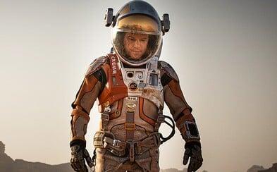 Vypestuje Matt Damon v The Martian od Ridleyho Scotta na Marse rastliny a zachráni sa?