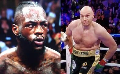 Výraz tváre Wildera po tom, čo sa Fury postavil zo zeme aj napriek tvrdému knockdownu, hovorí za všetko