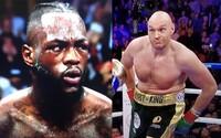 Výraz tváře Wildera poté, co se Fury zvedl ze země i přes tvrdý knockdown, mluví za vše