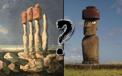 Vyřešili jednu ze záhad Velikonočního ostrova. Jak lidé manipulovali s klobouky soch?