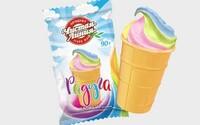 Výrobce zmrzliny s duhou na obalu v Rusku obvinili z propagace homosexuality