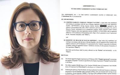 Výrok Zuzany Baťovej sa objavil v dodatku k zmluve o Sputniku V: Nikto mi o tom nepovedal, tvrdí šéfka ŠÚKL-u