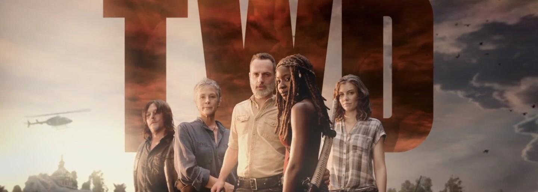 Vyše 5-minútový trailer na 9. sériu Walking Dead odhaľuje Civil War v Rickovej skupine a bradatého Negana