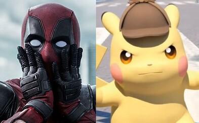 Vyšetrovacie taktiky detektíva Pikachua s dabingom Deadpoola alias Ryana Reynoldsa k nám dorazia už na jar 2019