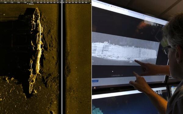 Výzkumníci našli potopenou loď z námořní bitvy, která se odehrála během druhé světové války