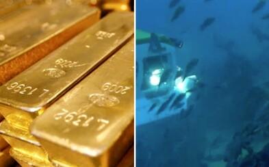 Výskumníci odhalili potopené britské zlato za viac než 5 miliárd eur. Musia však vyriešiť, ako sa ku zničeným lodiam dostať