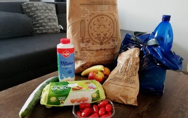 Vyskúšali sme potravinové donášky v Bratislave: Koľko to stojí a kedy ti príde jedlo domov?