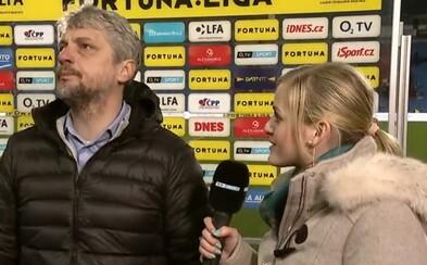 Výsměch! Trenér českého fotbalového týmu neudržel po zápase nervy a během rozhovoru po zápase odešel