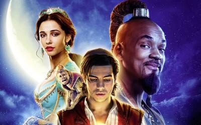 Vysmiaty Džin, krásna princezná aj lietajúci koberec. Aladin bude zábavným a rozprávkovým dobrodružstvom