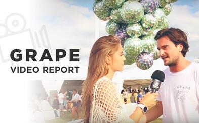 Vyspovedali sme organizátora a návštevníkov festivalu Grape. Vychutnaj si atmosféru na videu (Reportáž)