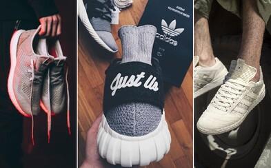 Výstava tenisek adidas Consortium ze spolupráce s těmi nejznámějšími prodejci z celého světa