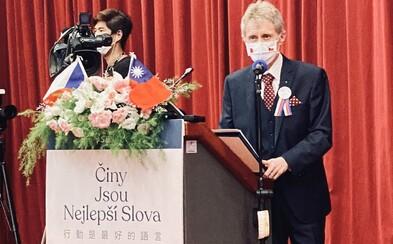Vystrčil jako Kennedy. Jsem Tchajwanec, ukončil předseda Senátu svůj silný projev v tchajwanském parlamentu