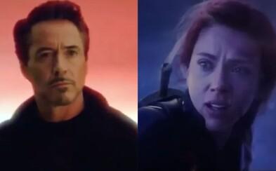 Vystrihnuté scény z Endgame: Tony sa stretáva so svojou dospelou dcérou či alternatívny finálny súboj so všetkými Avengers