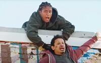 Vystřižené scény z komedie Bad Trip ukazují, jak herci napálili kněze či nepovedený vtip s Chrisem Rockem