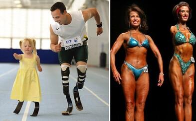 Vytrvalí športovci a atléti, ktorých vážny hendikep neodradil od ich vášne k aktívnemu životnému štýlu