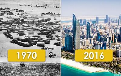 Vývoj obľúbených svetových miest za posledných viac než 100 rokov. Ako rýchlo sa ich podoba transformovala?