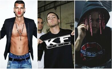 Vývoj outfitov slovenských a českých raperov počas viacerých momentov ich kariéry #2