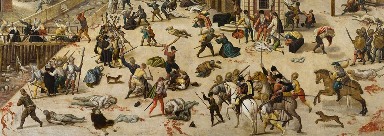Vyvražďovanie hugenotov: Náboženský fanatizmus, ktorý vyvrcholil Bartolomejskou svadbou a smrťou 3 000 ľudí za jedinú noc