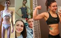 Vyzerala ako chodiaca kostra a lekári pripravovali jej rodinu na najhoršie. Nakoniec porazila anorexiu a teraz bojuje v oktagone