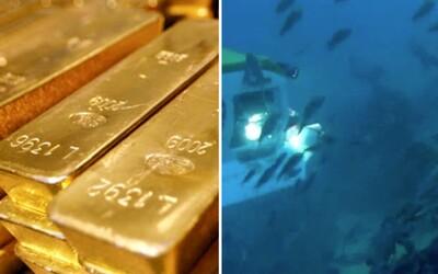 Výzkumníci odhalili potopené britské zlato za více než 135 miliard korun. Musí však vyřešit, jak se ke zničeným lodím dostat