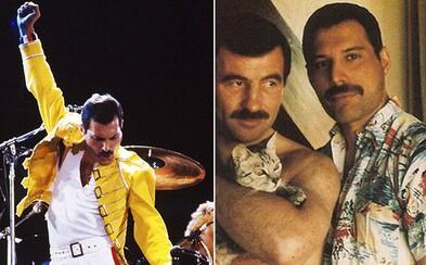 Vzácne a roztomilé fotografie zo súkromia Freddieho Mercuryho, ktoré sa na verejnosť často nedostávali. Jeho priateľ s ním zostal až do konca