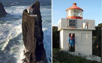 Vzácny islandský maják ako stvorený pre introvertov. Už len dostať sa naň by ti dalo poriadne zabrať