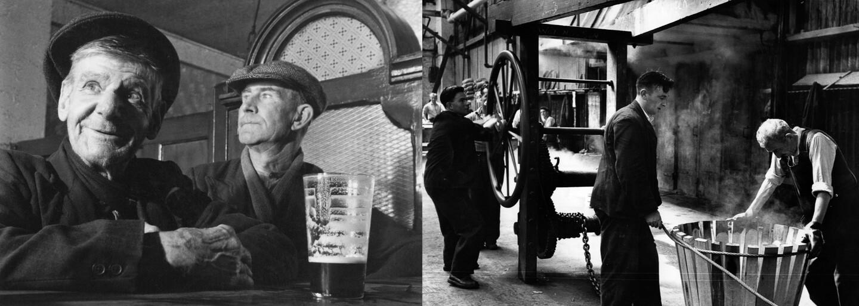 Vzácny pohľad do zákulisia tradičnej výroby piva Guinness. Zábery z 50. rokov ukazujú vášeň v očiach zamestnancov