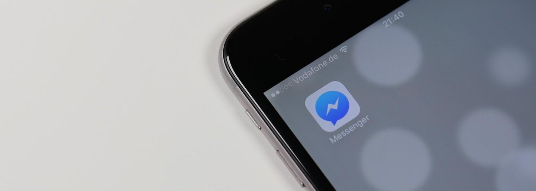 Vzhled Messengeru se po aktualizaci výrazně změnil. Facebook slibuje novinky i v nejbližších týdnech