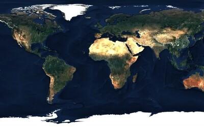 Vznikla mapa světa v rozlišení 80 bilionů pixelů. Evropské satelity ji společně vytvářely jeden rok