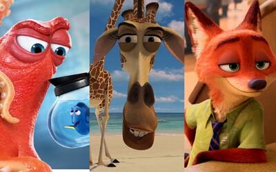 Vzpomeneš si na jména postav z animáků, které tě doprovázely v dětství i dospělosti?