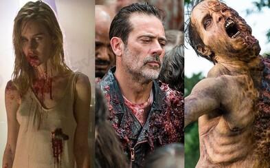 The Walking Dead odhalí svého prvního, kompletně nahého zombíka