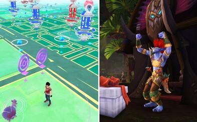 Warcraft GO? Blizzard chystá hru zo sveta orkov a nemŕtvych na štýl Pokémon GO