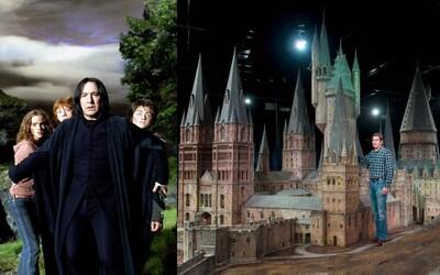 Warner Bros. nám odhalilo, ako sa natáčal Harry Potter, scény v Rokforte a aké praktické efekty použili