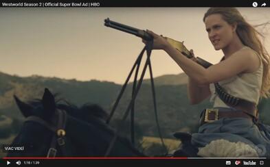 Westworld se vrací! Stylový trailer plný smrti a revoluce ohlašuje start 2. série na duben 2018