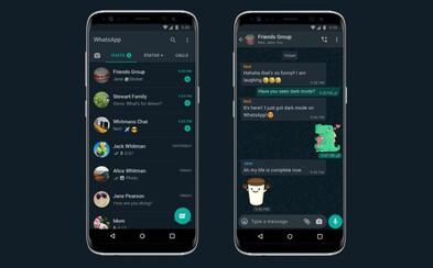 WhatsApp predstavil vlastný tmavý režim, ktorý má šetriť batériu aj tvoje oči. Je dostupný pre Android aj iOS