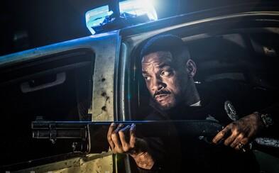 Will Smith a Joel Edgerton dotvárajú atmosféru špinavého fantasy sveta Bright, kde ako policajti chránia ulice plné ľudí, orkov a víl