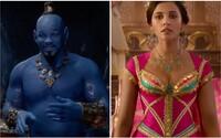 Will Smith sa ukazuje ako modrý Džin v úchvatných záberoch pre Aladina. Očarí ťa však aj krásna Jazmína