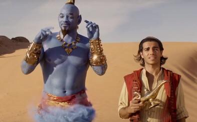 Will Smith sa v úžasnom traileri pre Aladina konečne ukazuje ako skvelý Džin. Dočkáme sa výborného a vtipného filmu?