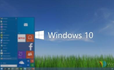 Windows 10 je oficiálně tady! Stahujte plnohodnotnou verzi zdarma už dnes