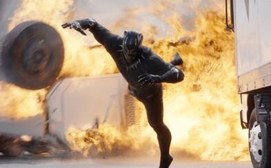 Winter Soldier to nemá jednoduché. Po Spideym si na neho vyšliapol aj úžasný Black Panther