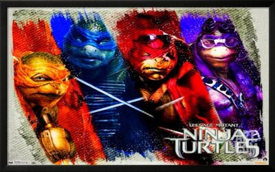 Wiz Khalifa, Juicy J a Ty Dolla $ign idú ninja rap v skladbe Shell Shocked k filmu Ninja Korytnačky