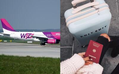 WizzAir reaguje na Ryanair. Príručnú batožinu ti aj naďalej odvezie zadarmo, zatiaľ čo u Írov si priplatíš
