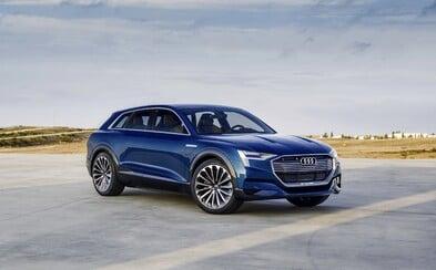 X6-ka od Audi je opäť bližšie k realite. Technológiami nabitá štúdia predznamenáva novú Q6-ku