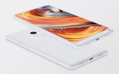 Xiaomi předvedlo svoji pýchu. Android smartphone Mi MIX 2 nabízí tenoučké rámečky, keramiku i moderní hardware